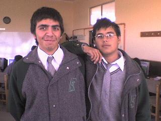 Chamanga   alias  Victor Mora  and  Tetox  alias Sergio  Bustos.